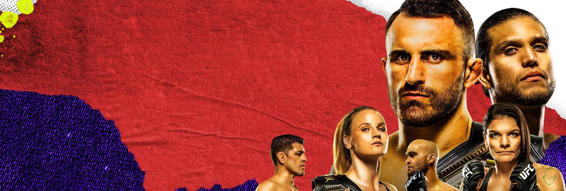 UFC 266: Volkanovski vs. Ortega (26. 9. 2021 4:00)